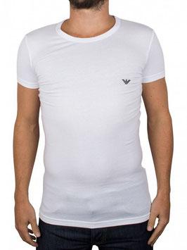 EMPORIO ARMANI T-Shirt Maglietta Uomo a Manica Corta Scollo Rotondo o a V in Elegante Scatola