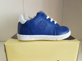 BALDUCCI Scarpe Bimbo Sneakers Bluette in Pelle con Suola Bianca |94024|