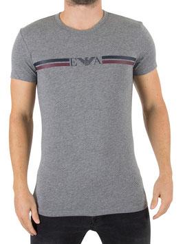"""EMPORIO ARMANI T-Shirt """"RUGBY PLAYER"""" Maglietta Uomo a Manica Corta Scollo Rotondo in Elegante Scatola"""