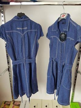 MISS BLUMARINE Jeans Vestito in Denim Blu |26 J 5763|