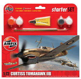 Starter Set Curtiss Tomahawk II B