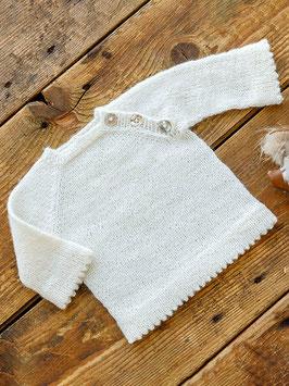 Babytröja med vikkant