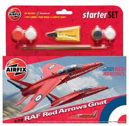 Airfix RAF Red Arrows Gnat Starter Set