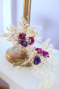 Set für die Braut - Purple