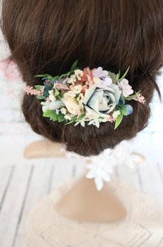 Haarclip - Pastell Blau