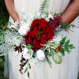 Brautstrauß und Bräutigam Anstecker Gratis - CARMEN