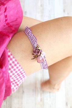 Strumpfband - Violett