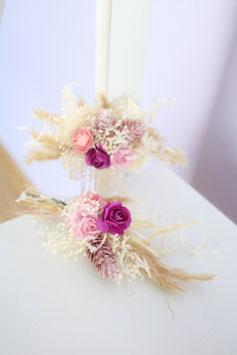 Set für die Braut - Rosa/Purple