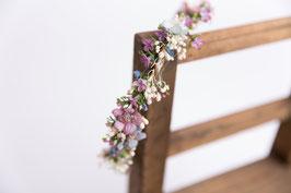 Haarkranz  - FLOWER LOVE VIOLETT