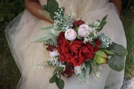 Brautstrauß und Bräutigam Anstecker Gratis - ALZBETA