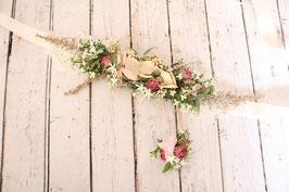 Set für die Braut - Gürtel und Ring
