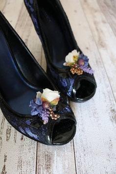 Schuhclips - Blau