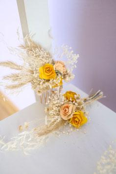 Set für die Braut - Gelb