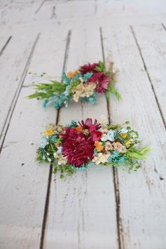Set für die Braut - Trockenblumen