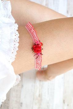 Strumpfband - Rot