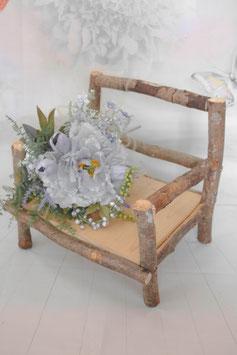 Set - Stuhl und Blümchen