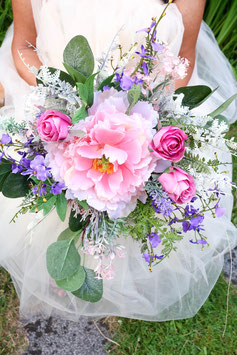 Brautstrauß und Bräutigam Anstecker Gratis - ALEXANDRA