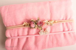 "Wrap und Stirnband Set ""Vintage dream"""