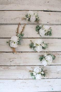 Set für die Braut - Weiß