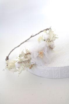 Haarkranz - FEE (Weiß)