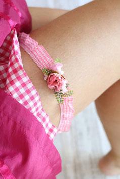 Strumpfband - Rosa
