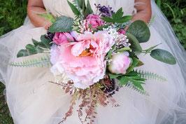 Brautstrauß und Bräutigam Anstecker Gratis - SASHA