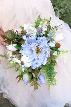 Brautstrauß und Bräutigam Anstecker Gratis - ELIZABETH