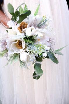 Brautstrauß und Bräutigam Anstecker Gratis - ALENA