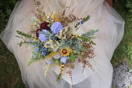 Brautstrauß und Bräutigam Anstecker Gratis - KATHARINA