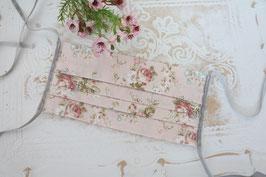 Mundmaske - Vintage Rosa