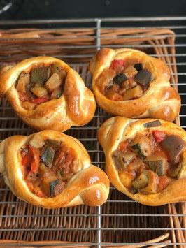 季節野菜のラタトゥイユパン