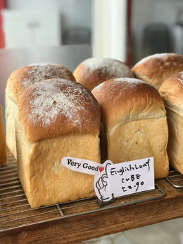 【木3/14】イギリス食パン 1斤サイズ