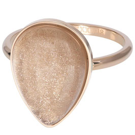 Ring Royal Stone Drop Champagne rosegold