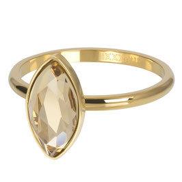 Ring Royal Diamond Topaz gold