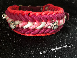"Paracord Halsband ""Just for girls"""