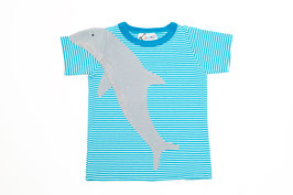 DELFIN T-Shirt blau