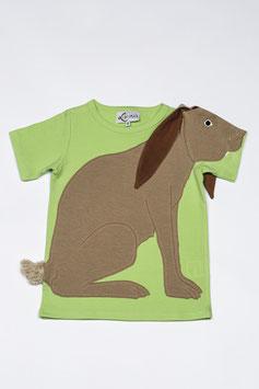 HASE T-Shirt grün