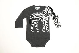 Body ZEBRA grau