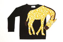 GIRAFFE Pullover schwarz