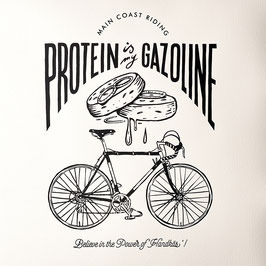 """PROTEIN IS MY GAZOLINE"""