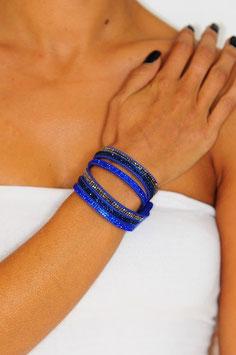 Bracelet multi-rang strass