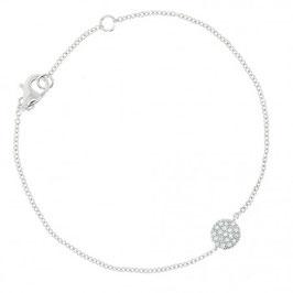 "Bracelet argent massif ""Evan"" Eliot"