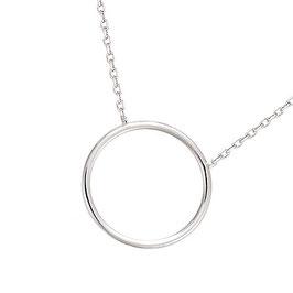 Collier en argent massif cercle