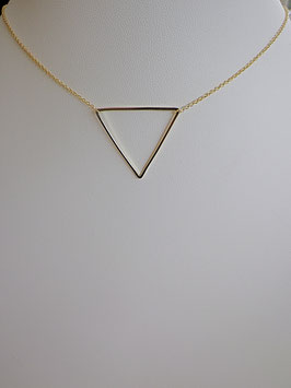 Collier fantaisie motif triangle