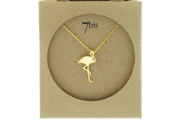 Collier 7 bis flamand rose