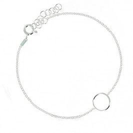 Bracelet argent massif cercle