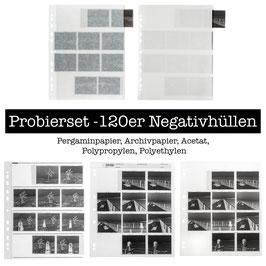 Probierset 120er Negativhüllen