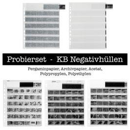 Probierset 135er/KB Negativhüllen