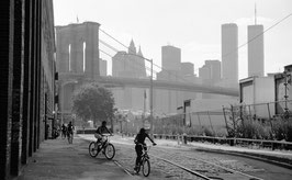L07 - Brooklyn Fahrradfahrer, New York City 1999