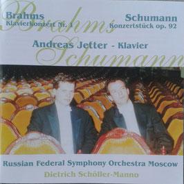 Brahms Klavierkonzert Nr.1 & Schumann Konzertstück op. 92